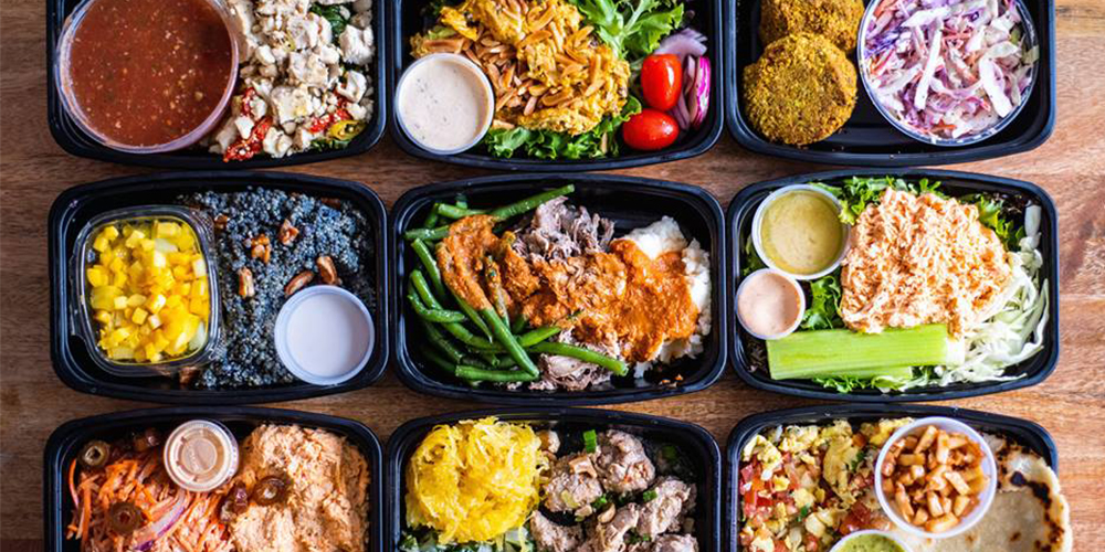 pre-packaged meals by Territory Foods
