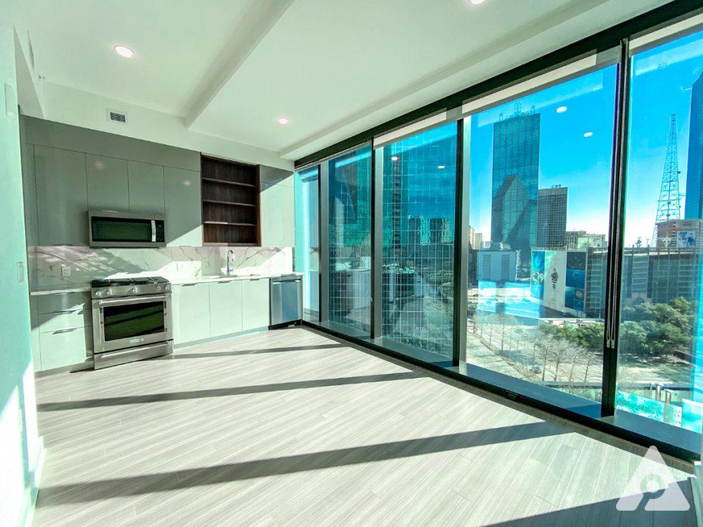 Dallas Apartment Living room