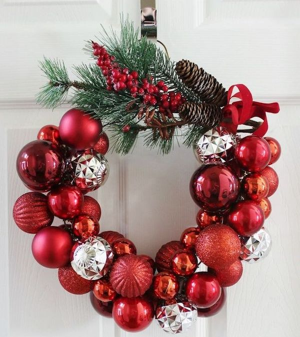 Wire Hanger Wreath